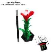 Appearing Flower | Alat Sulap | Tongkat Bunga | Pemula | Dimen Shop