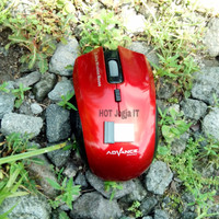 Mouse Wireless Wifi Murah Advance 502B Original