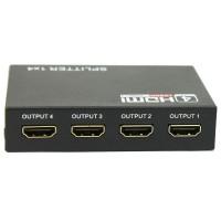 HDMI SPLITTER 4 PORT (1 INPUT 4 OUTPUT)