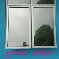 Jual sticker/stiker kaca /kaca film cermin/one way Murah