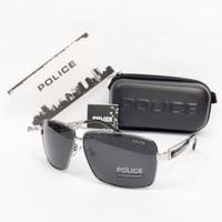 KACAMATA SUNGLASS PRIA POLICE POLAROID 8520 FULL SET - 1105