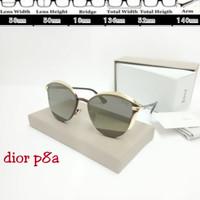 kacamata Dior P8a Sunglass Fashion Lensa Cokelat UV protection