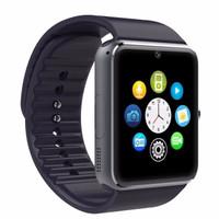 NEW ARRIVAL Smartwatch GT08 - Black Smart Watch - Smartwatch U10