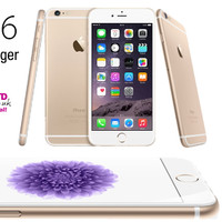APPLE IPHONE 6Plus Gold - 16GB GARANSI PLATINUM 1 TAHUN
