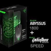 Razer Abyssus 1800 + Goliathus Speed Murah