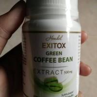 Jual Obat Pelangsing Herbal Alami Exitox Green Coffee Bean Murah