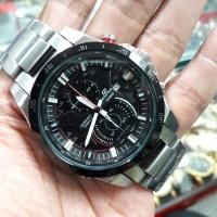 Casio Edifice Eqw A1200 Silver Black Dial (New Style)