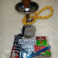 Rokok Shisa/Shisha mini+Refill+Batu bara/Classic Vaporizer