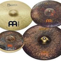 Meinl Cymbal Paket Set Byzance Extra Dry Mike Johnston 4 Pcs MJ401+18