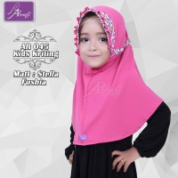 AR 045 Kids Kriting Jilbab Anak by Hijab Ar Rafi New