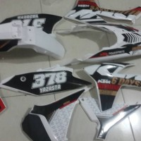 harga body set ktm 250 six days plus decal custom Tokopedia.com