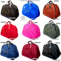 TAS TRAVEL / BAJU BAG BURBERRY LEATHER