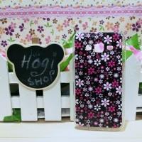 Samsung J5 2015 - Softcase Casing Custom Case Motif KD-280 Bunga Pink