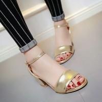 harga Sepatu High heels gelang / high heels Gelang laks cQ Gold Tokopedia.com
