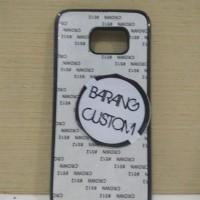 Case Sublimasi 2D Samsung Galaxy S7 Edge Black