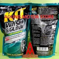 Shampoo Body Motor KIT / KIT Wash & Glow Car Shampoo Pouch ( 800 ml)