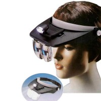 Light Head Magnifying Glass / Senter Kepala Kaca Pembesar LM-HMG194