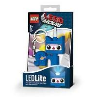 lego led keychain unikitty blue