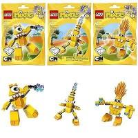 LEGO MIXELS Series 1-Electroids Mixel Seri Teslo Zaptor Volectro 3 pcs