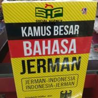 BUKU KAMUS BESAR BAHASA JERMAN ,JERMAN-INDONESIA,INDONESIA-JERMAN,tl
