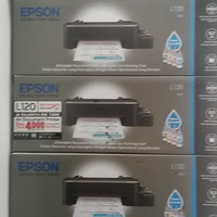 Printer Epson L120 New / Printer Murah Stylus L120 Lengkap Infus asli