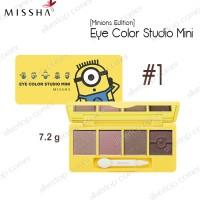 Missha Minion Edition Eye Color Studio Mini
