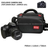 Camera Bag - Zamrud 101 for Canon DSLR, EOS 100D, EOS 700D, EOS 1200D