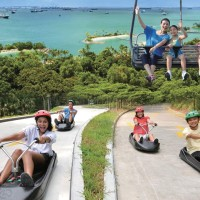 Tiket 2 Ride Skyline Luge & Skyride Sentosa Singapore - Dewasa/Anak