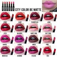 (ORIGINAL) CITY COLOR - BE MATTE LIPSTICK