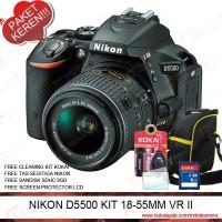 NIKON D5500 KIT 18-55MM VR II (PAKET KEREN)