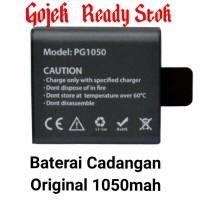 Baterai Original Eken H8R V3 1050mah Kogan SJ Cam Bpro Action Cam