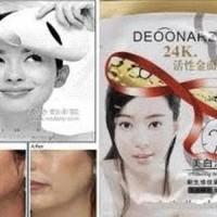 Masker Deonard Gold 24k Topeng / Masker Emas Deonard