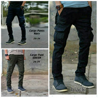 Jual Celana Cargo Panjang Kanvas / Celana PDL / Celana Panjang Pria Murah