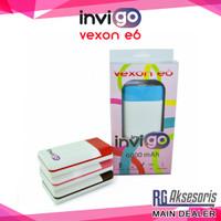 Powerbank Merk INVIGO VEXON E6 6000Mah Gransi 1 thn | bisa XIAOMI ASUS