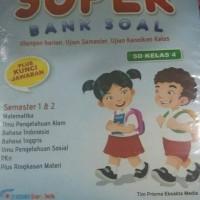 Buku latihan soal: SUPER BANK SOAL SD KELAS 4