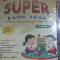 Buku latihan soal: SUPER BANK SOAL SD KELAS 3