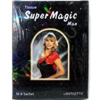 Tissu Super Magic Hitam Kejantanan Keharmonisan