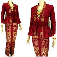 Jual Batik Wanita Modern Batik Peplum Kebaya Pesta Kebaya Bali Murah