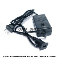 Adaptor Obeng Listrik Model Switching + Potentio