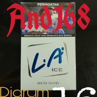 Rokok Djarum L.A Light Ice 16 Jarum LA Es Biru
