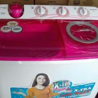 Mesin Cuci Sanken 2 Tabung 8kg (Cuci Gudang)