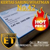 Filter Paper / Kertas Saring   Whatman No.42   1442-090 Harga Murah