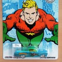 HOT WHEELS '65 FORD RANCHERO BLUE AQUAMAN DC COMICS SERIES 2012 #04/06