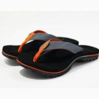 sandal sendal sancu gunung extreme pria oren orange cowo jepit