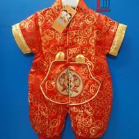 Jual Cheongsam Baby Impor Jumper Bayi Baju Anak Pakaian Imlek Xincia Unisex Murah