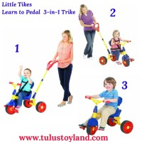 Jual Sepeda Little Tikes Learn to Pedal 3 in 1 Trike Murah