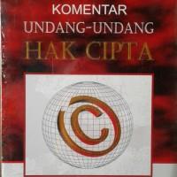 Buku Komentar Undang-undang Hak Cipta