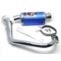 KNALPOT I-ONE TRIOVAL BLUE-CROM MIO J, GT | 8997021194486