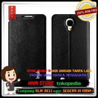 Imak Flip Leather Cover Case Series for Samsung Galaxy J N075T - Black