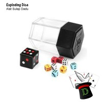 Exploding Dice | Alat Sulap | Dadu | Mainan | Magic | Dimen Shop